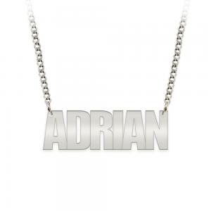 Allen - Colier din argint 925 personalizat cu nume