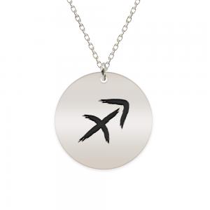 Amelie - Colier argint 925 personalizat cu semn zodiacal Sagetator
