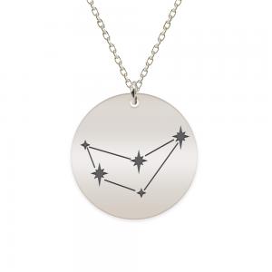 Destiny - Colier argint 925 personalizat cu constelatii - Capricorn