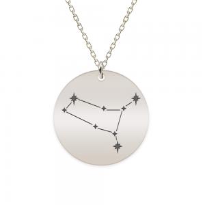 Destiny - Colier argint 925 personalizat cu constelatii - Gemeni