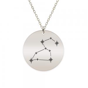 Destiny - Colier argint 925 personalizat cu constelatii - Leu