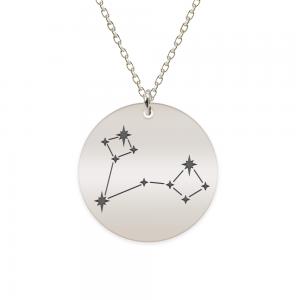 Destiny - Colier argint 925 personalizat cu constelatii - Pesti