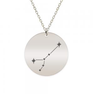 Destiny - Colier argint 925 personalizat cu constelatii - Rac