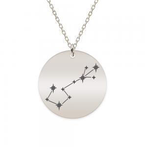 Destiny - Colier argint 925 personalizat cu constelatii - Scorpion