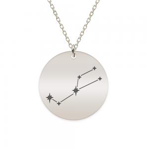 Destiny - Colier argint 925 personalizat cu constelatii - Taur