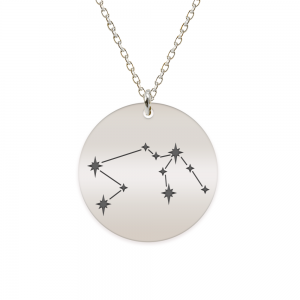 Destiny - Colier argint 925 personalizat cu constelatii - Varsator