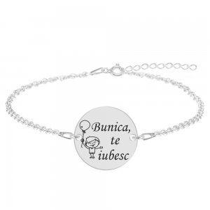Granny - Bratara personalizata din argint 925 - Banut