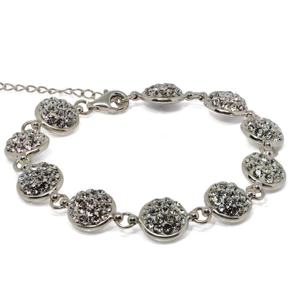 Elegance - Bratara Argint si Cristale Swarovski