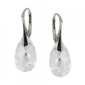 Linda - Cercei Argint si Cristale Swarovski - Crystal