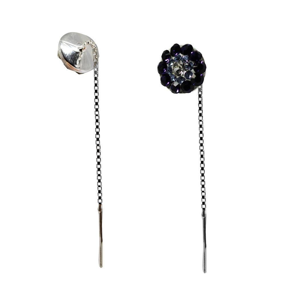 Johana - Cercei Argint si Cristale Swarovski