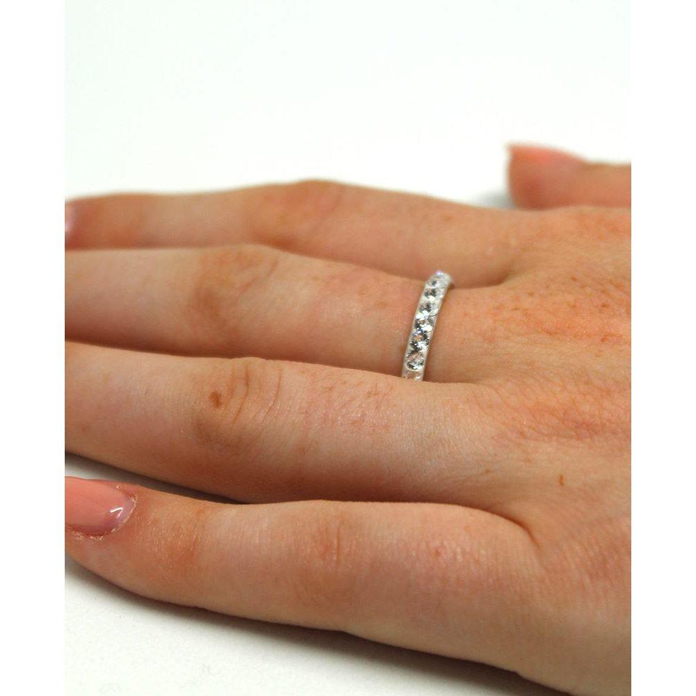 Cassia - Inel  Argint si Cristale Swarovski