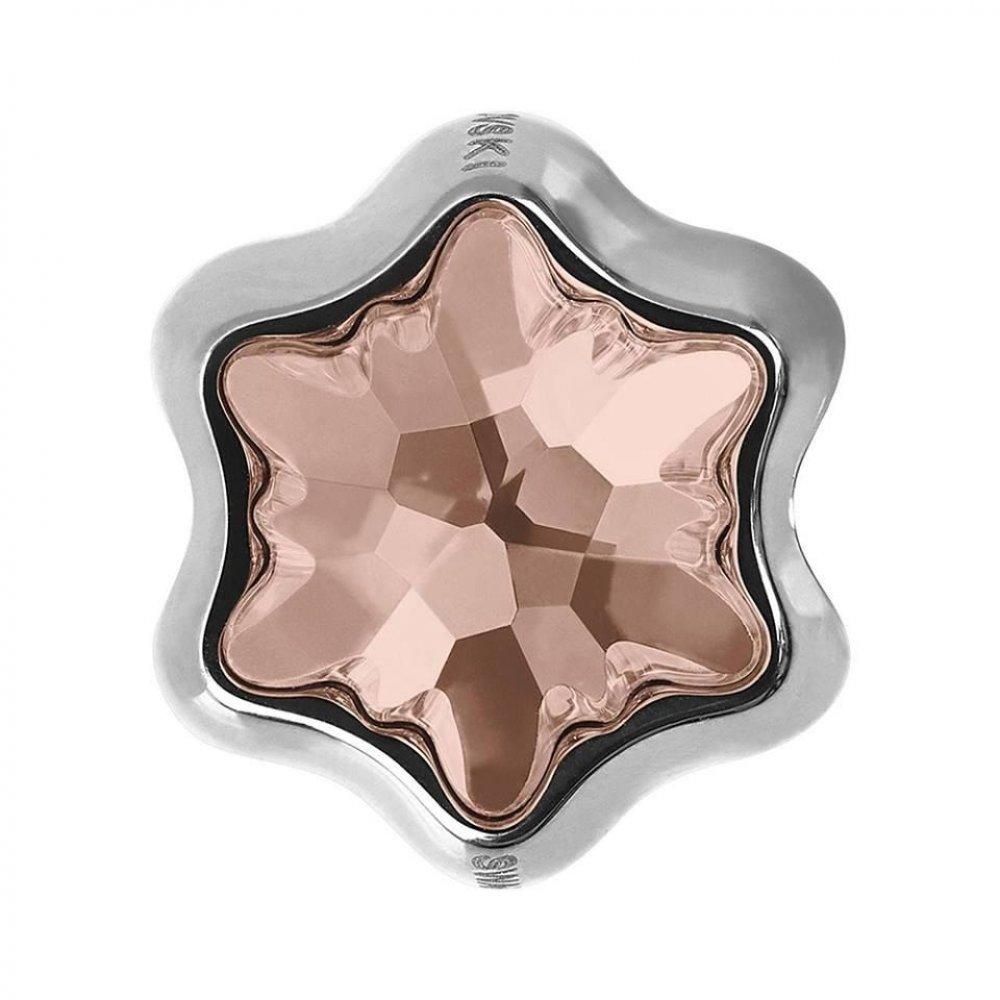Brie -Talisman Compatibil cu Bratarile Tip Pandora din Cristale Swarovski - Golden Shadow
