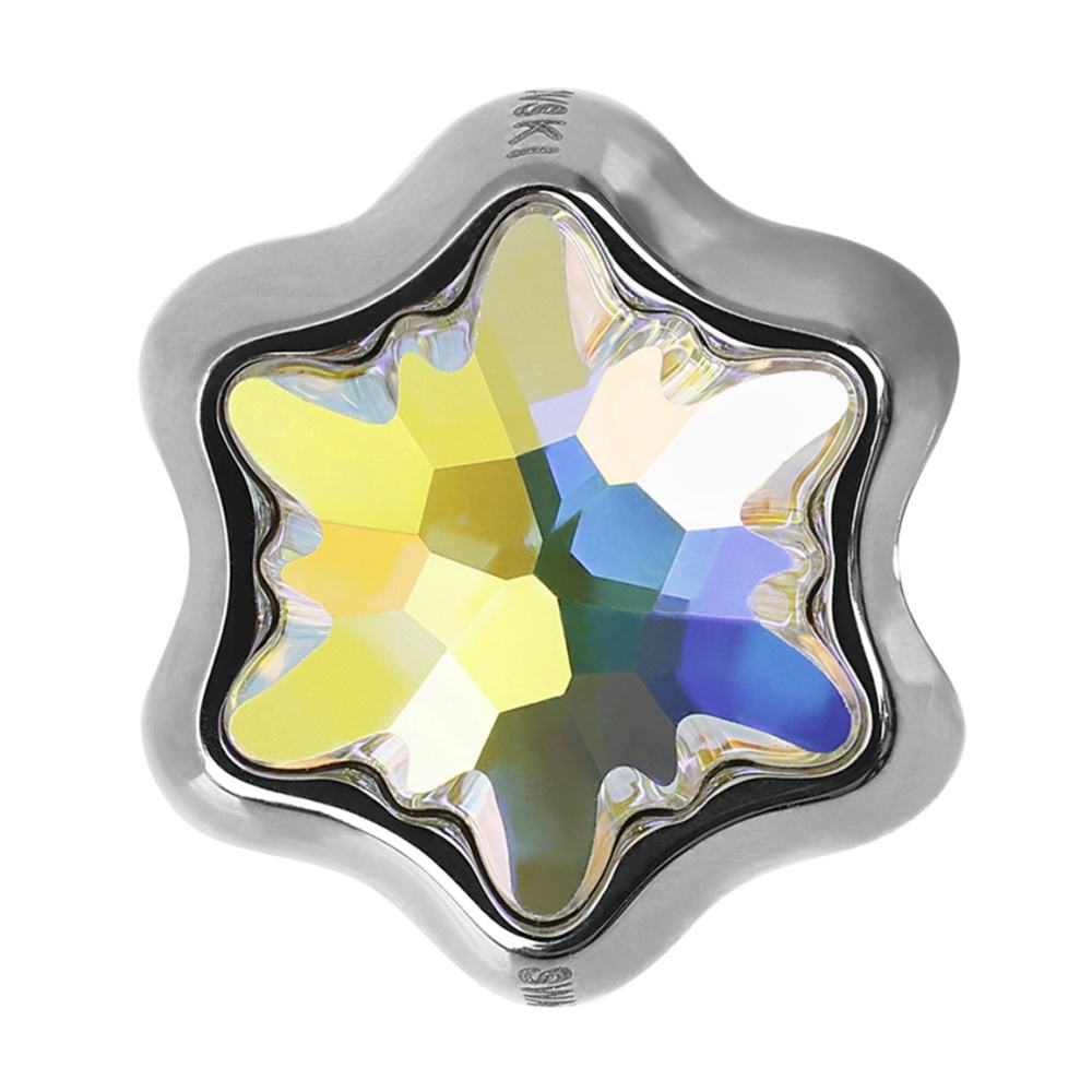 Brie -Talisman Compatibil cu Bratarile Tip Pandora din Cristale Swarovski - Aurore Boreale