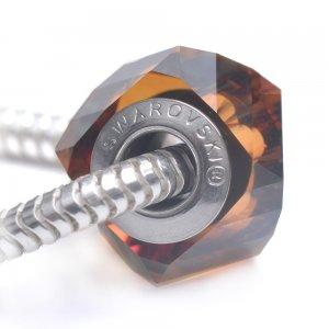 Helix - Talisman pentru bratari din Cristale Swarovski - Copper