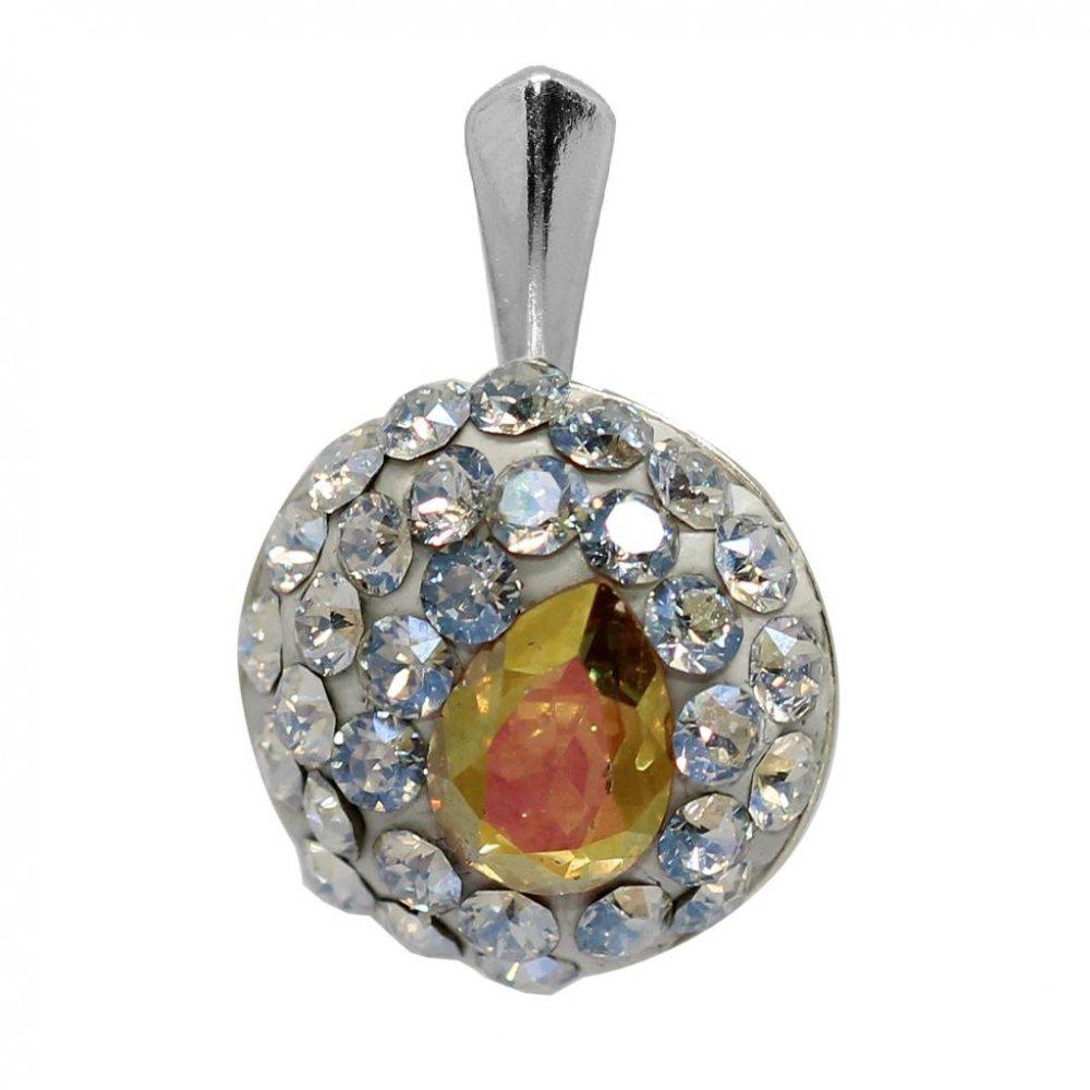 Ada - Pandantiv  Argint si Cristale Swarovski