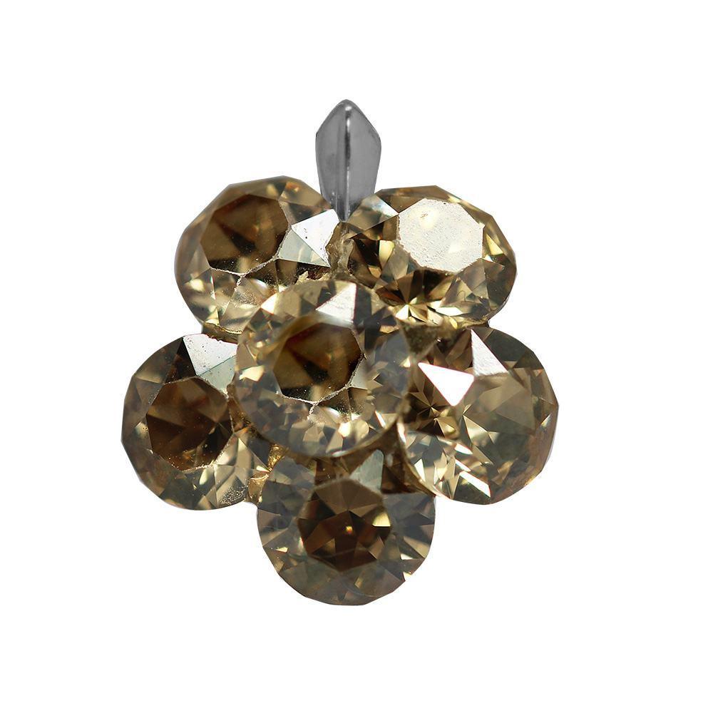 Bernie - Pandantiv Argint si Cristale Swarovski - GoldenShadow