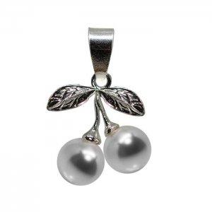 Arya - Pandantiv Argint si Perle Swarovski - Crystal