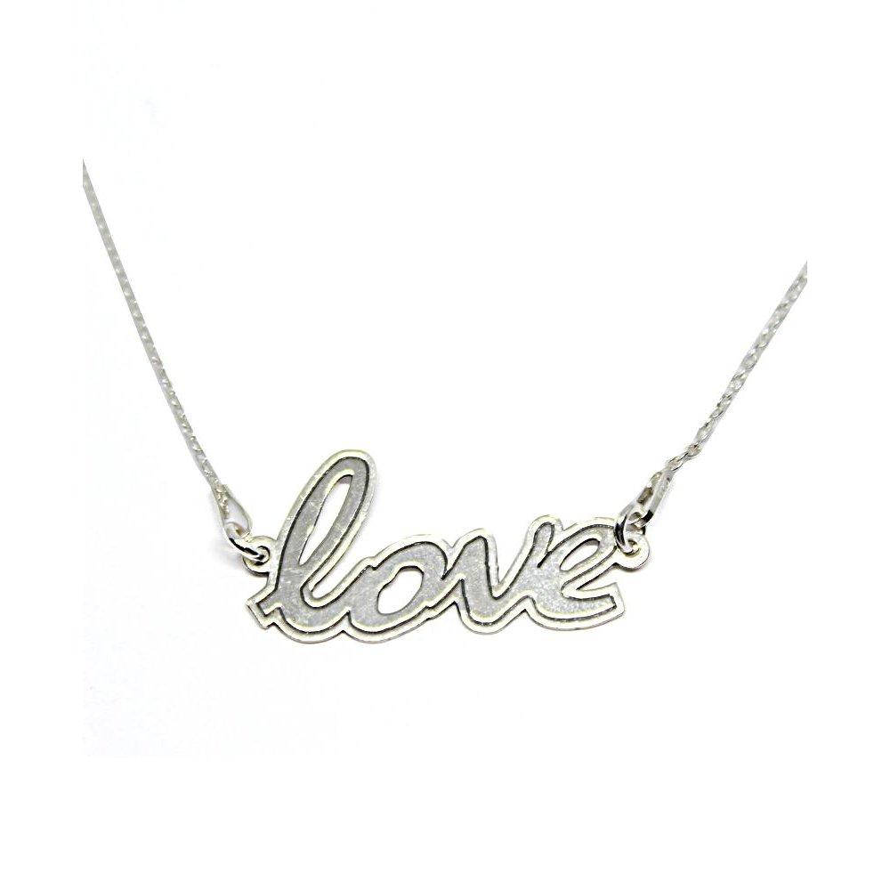 Skye - Colier Argint Love