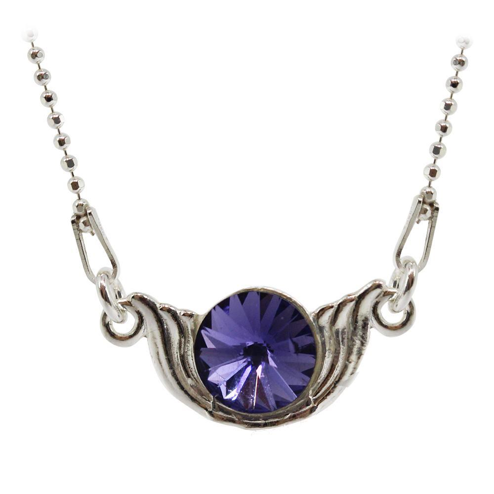 Wing - Colier Argint si Cristale Swarovski