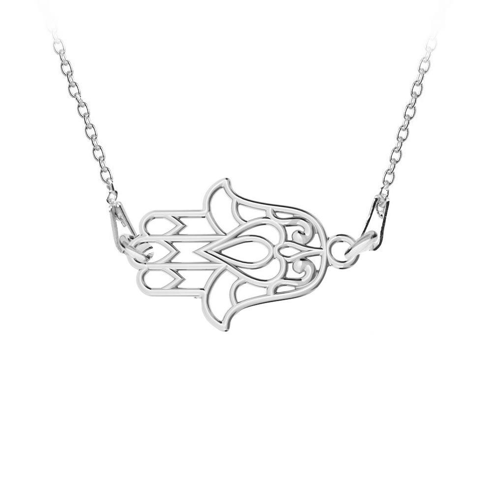 Hamsa - Colier Argint