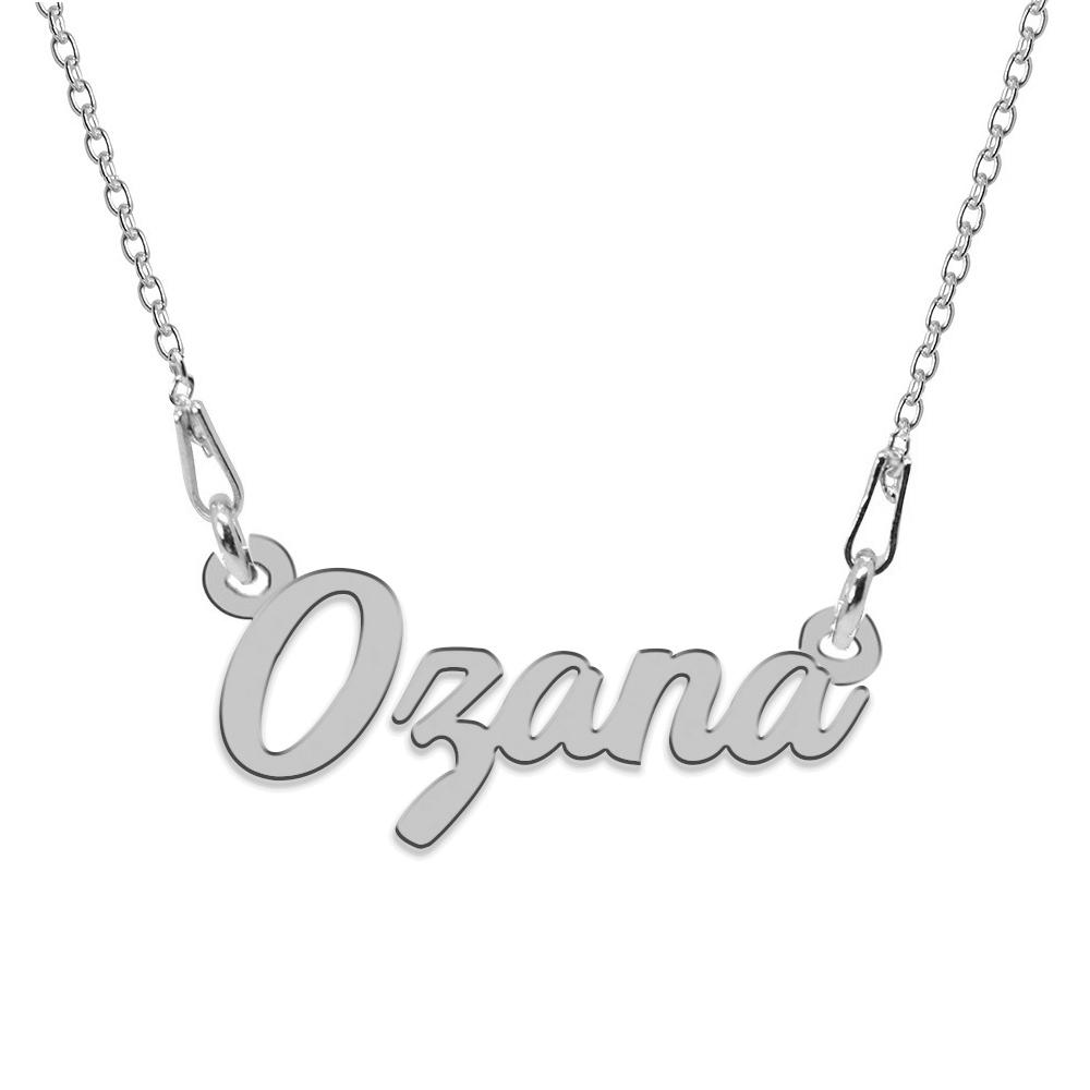 Colier Argint 925, Nume Ozana , 45 cm