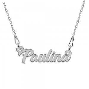 Colier Argint 925, Nume Paulina , 45 cm