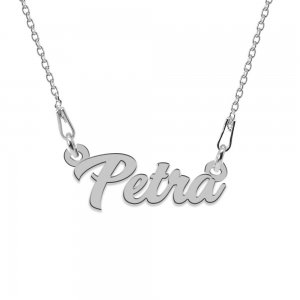 Colier Argint 925, Nume Petra , 45 cm