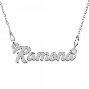 Colier Argint 925, Nume Ramona , 45 cm