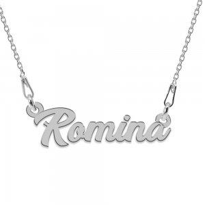 Colier Argint 925, Nume Romina , 45 cm