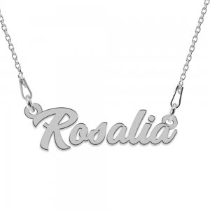 Colier Argint 925, Nume Rosalia , 45 cm