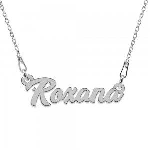 Colier Argint 925, Nume Roxana , 45 cm