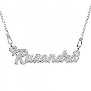 Colier Argint 925, Nume Ruxandra , 45 cm