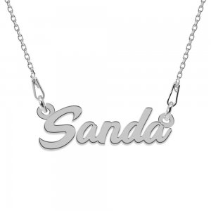 Colier Argint 925, Nume Sanda , 45 cm