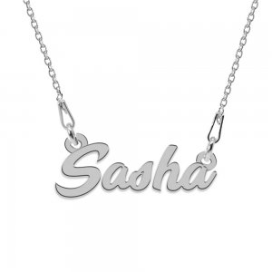 Colier Argint 925, Nume Sasha , 45 cm