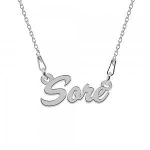 Colier Argint 925, Nume Sore , 45 cm