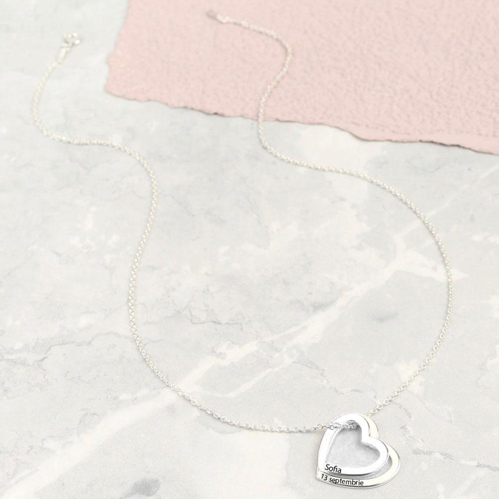 Corina - Colier din argint personalizat