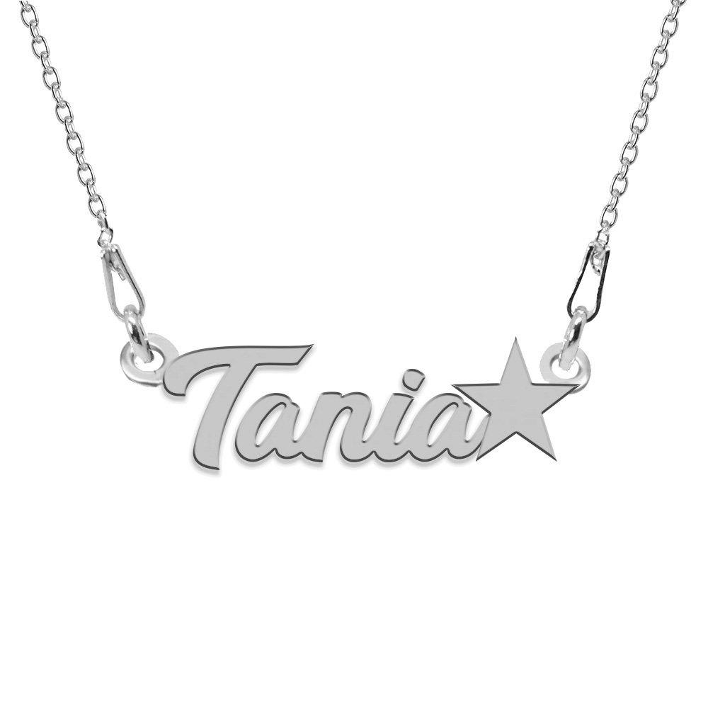 Nomine - Colier cu nume din argint personalizat