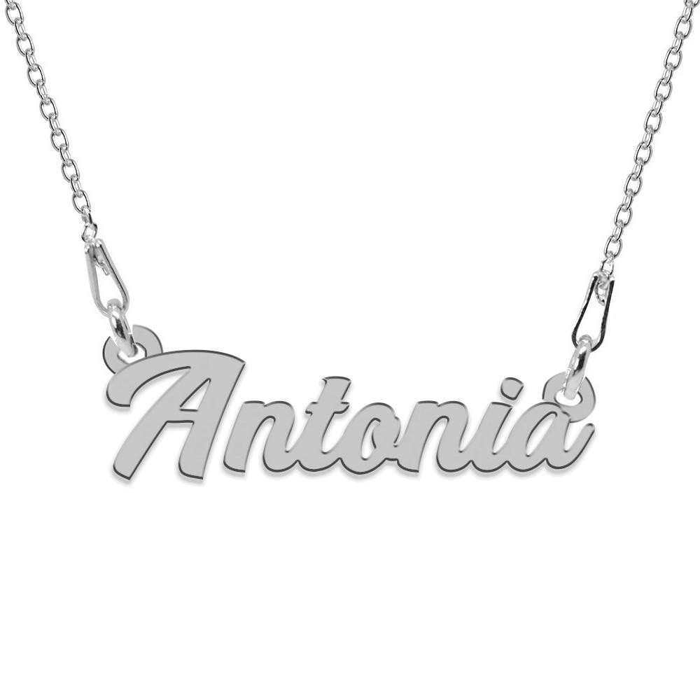 Colier Argint 925, Nume Antonia , 45 cm