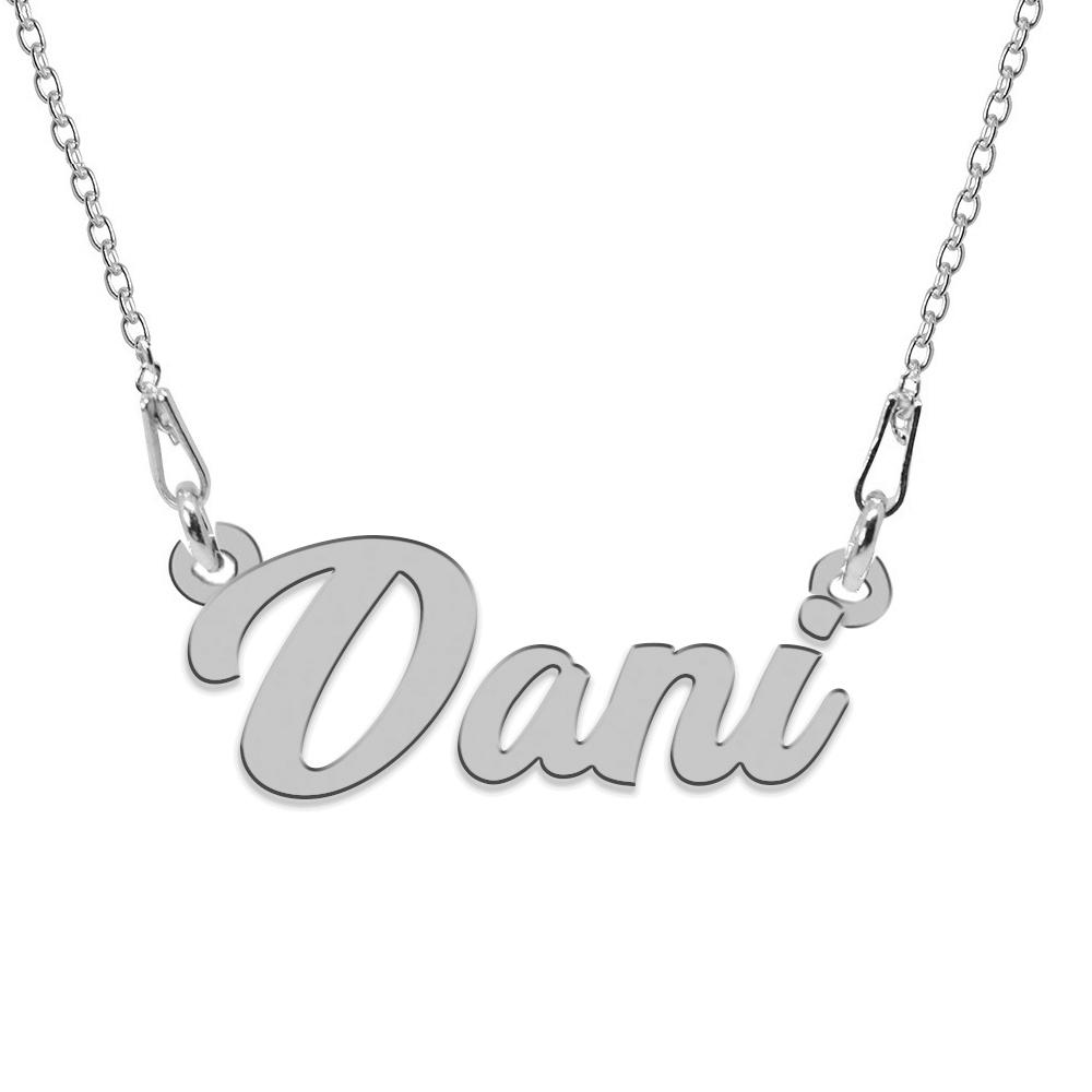 Colier Argint, Nume Dani, 45 cm