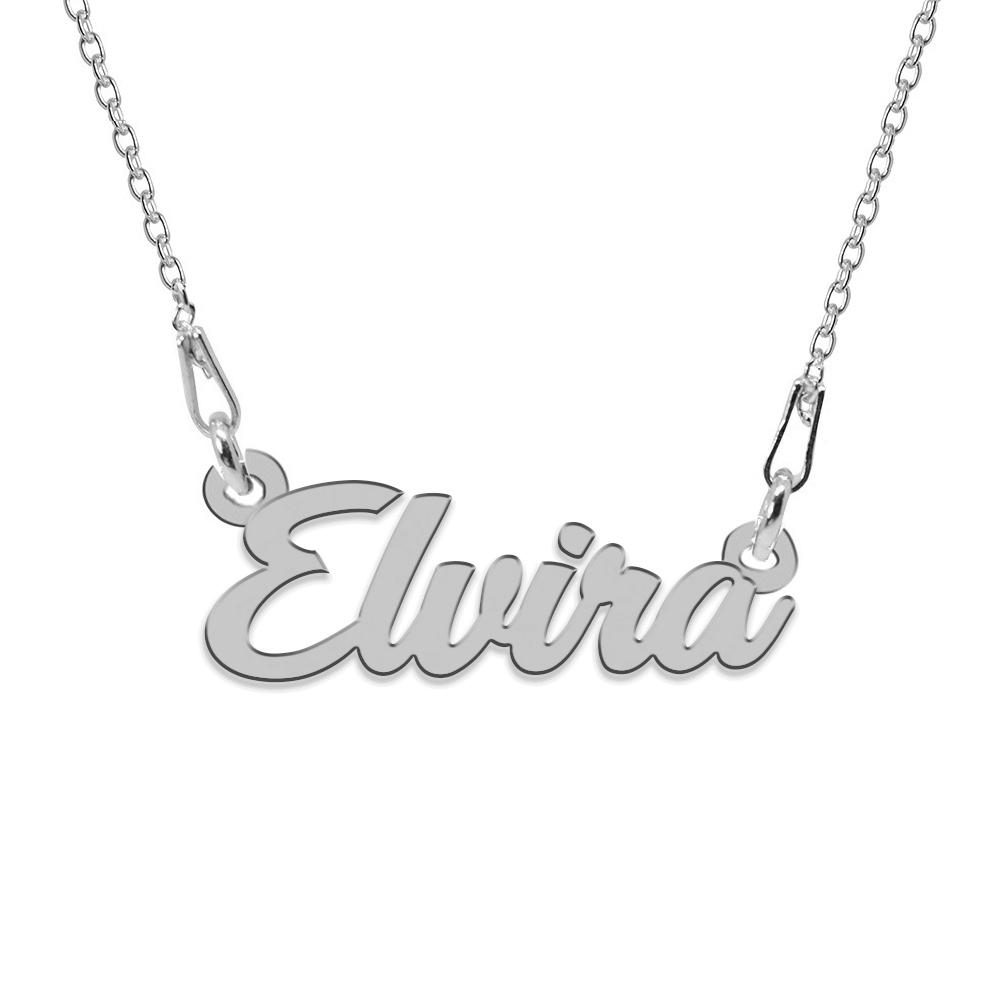 Colier Argint 925, Nume Elvira , 45 cm