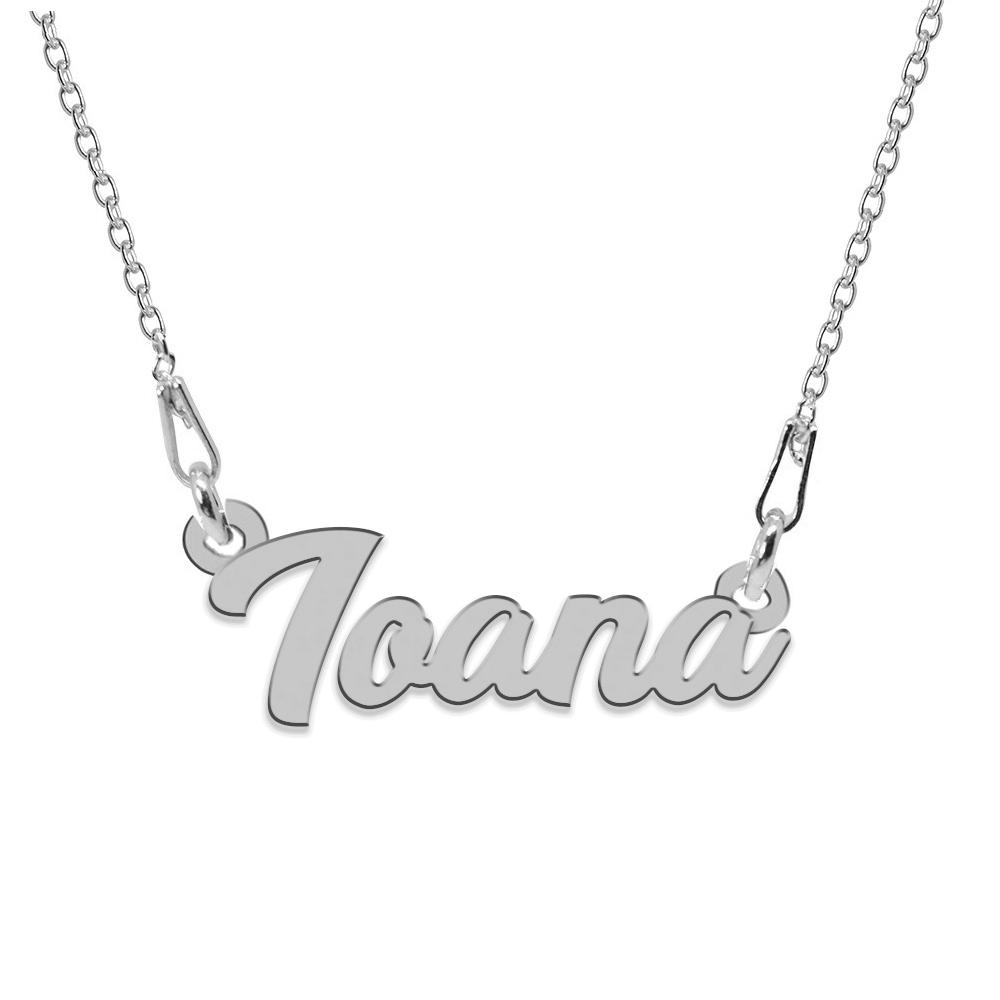 Colier Argint 925, Nume Ioana , 45 cm