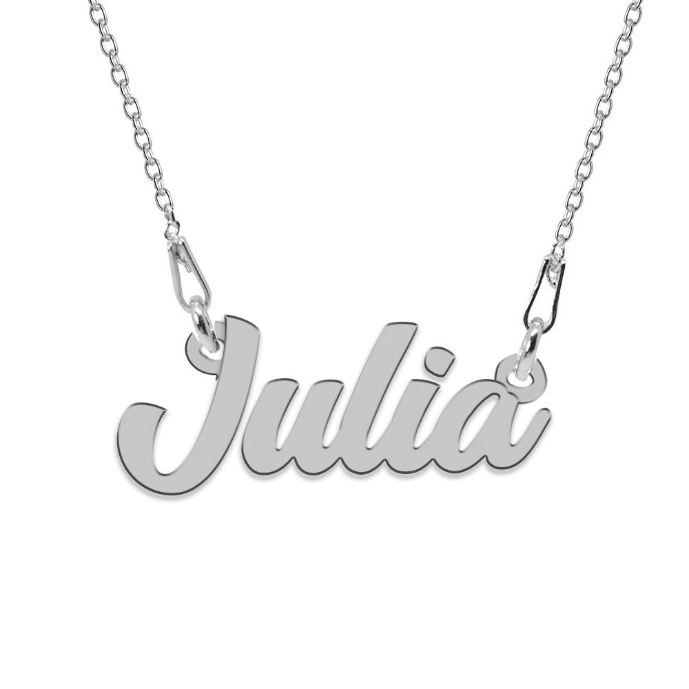 Colier Argint 925, Nume Julia , 45 cm