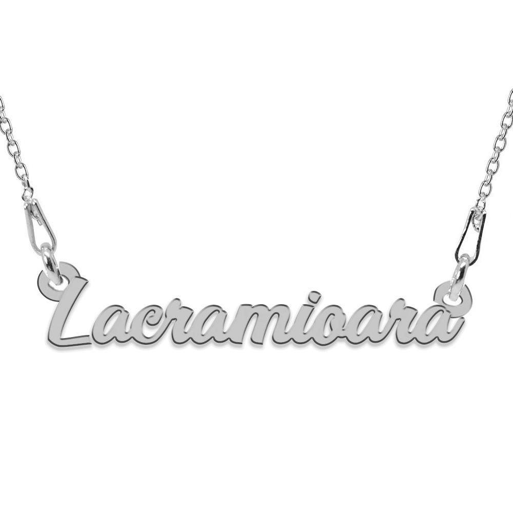 Colier Argint 925, Nume Lacramioara , 45 cm poza 2021