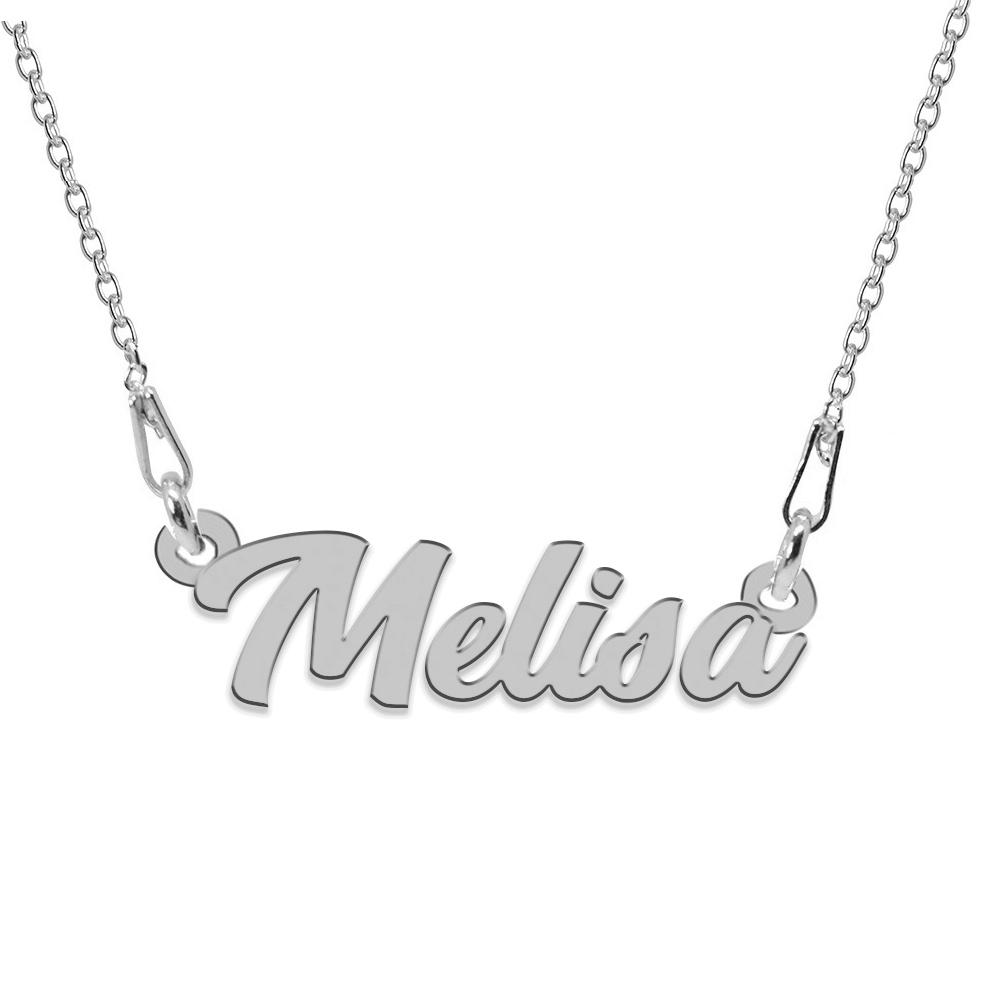 Colier Argint 925, Nume Melisa , 45 cm poza 2021