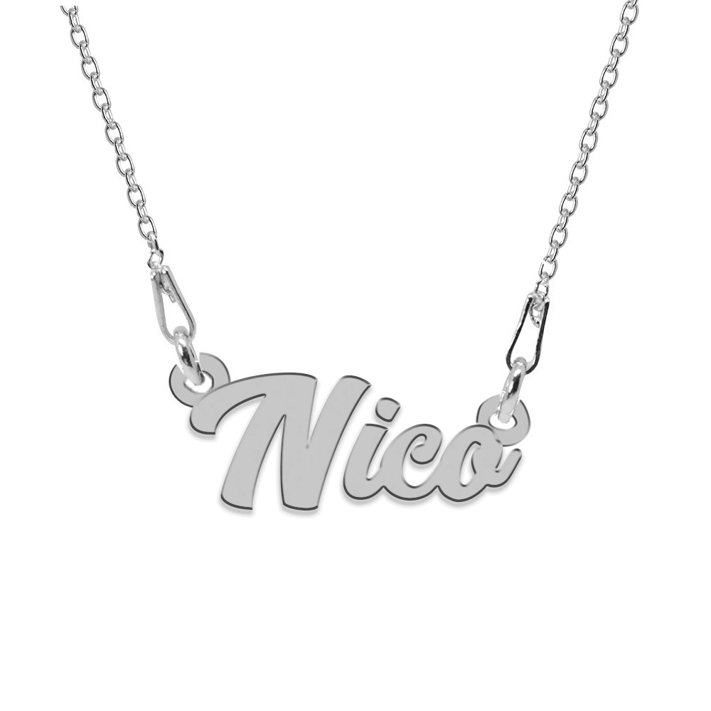 Colier Argint 925, Nume Nico , 45 cm