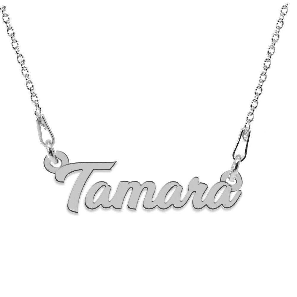 Colier Argint 925, Nume Tamara , 45 cm
