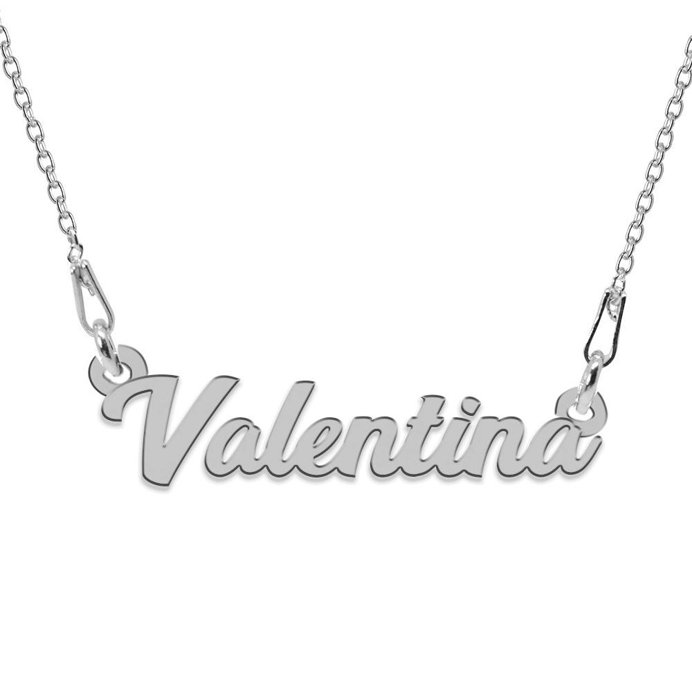 Colier Argint 925, Nume Valentina , 45 cm
