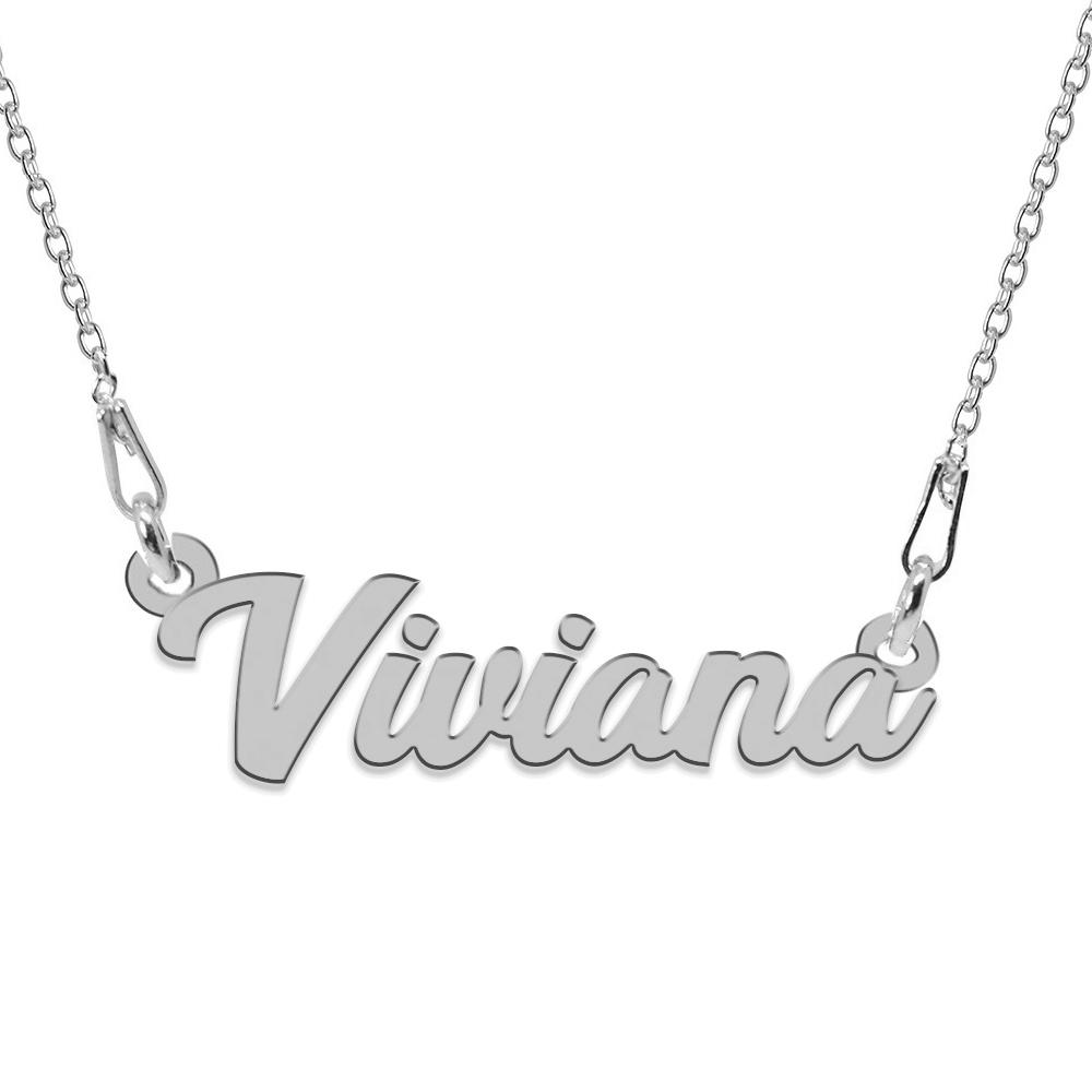 Colier Argint 925, Nume Viviana , 45 cm